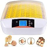 Incubadora Automática de Huevos 56 Huevos Pantalla Digital de Temperatura Dispositivo de Incubación Gallina Pato Codorniz