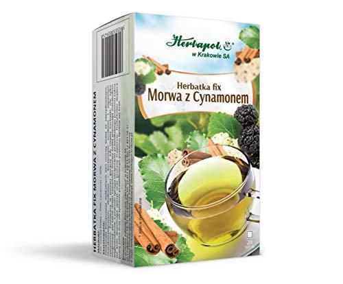 Herbapol w Krakowie SA Maulbeer-Zimt-Tee fix, 1er Pack (1 x 100)