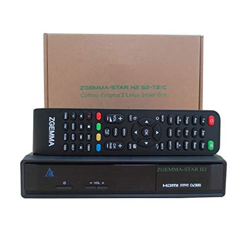 ZGEMMA-Star H2 mit DVB-S2 + DVB-T2 / C Full HD Combo Receiver