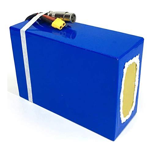 LIUDOU Batería de 750W 48V EBIKE, 48V 13AH 15.5AH Batería de Bicicleta eléctrica Trabajo para el Motor de Scooter de 250W-750WBicycle, batería de Iones de Litio con Cargador,48V15.5AH Samsung