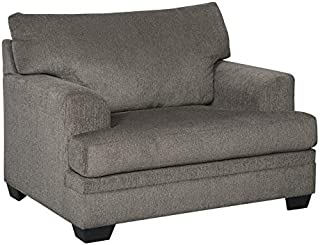 Signature Design by Ashley - Dorsten Contemporary Oversized Accent Chair, Slate Gray