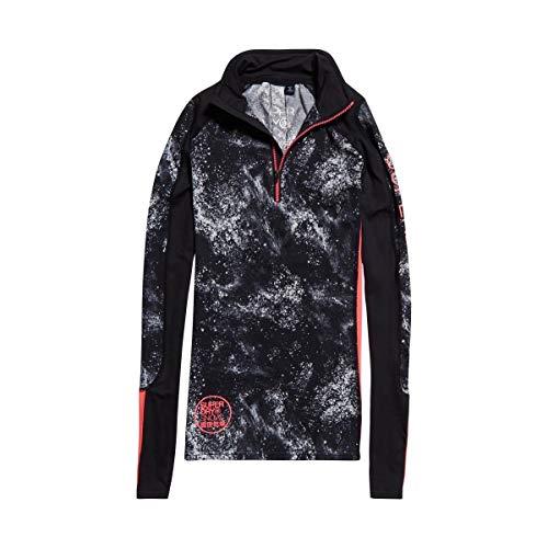 Superdry - Carbon basislaag dames Skiën ondergoed (zwart/wit) - XS