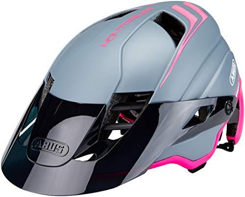 ABUS MonTrailer MIPS Mountainbike-Helm - Robuster Fahrradhelm für den Geländeeinsatz - für Damen und Herren - 81685 - Pink/Grau, Größe M