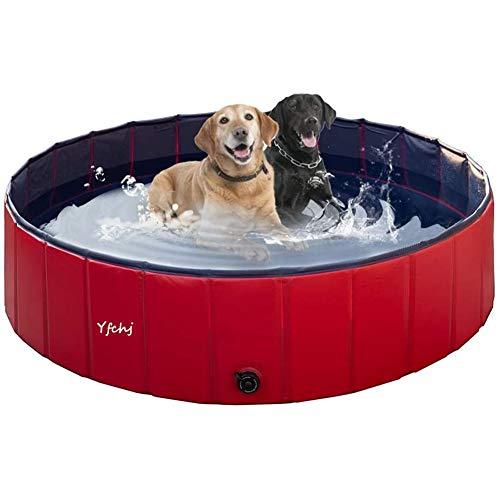 Bañera Plegable de Mascotas Baño Portátil para Animales Piscina para Perros y...