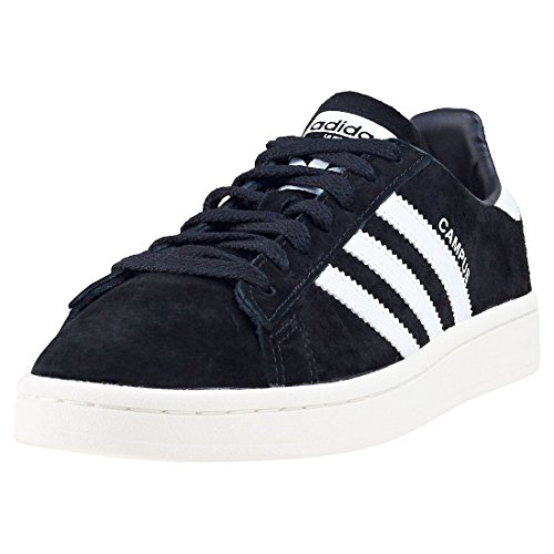 Adidas Campus Bz0084, Zapatillas Hombre, Negro (Core Black/Footwear White/Chalk White 0), 43 1/3 EU