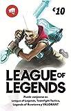 League of Legends €10 Tarjeta de regalo | Riot Points...