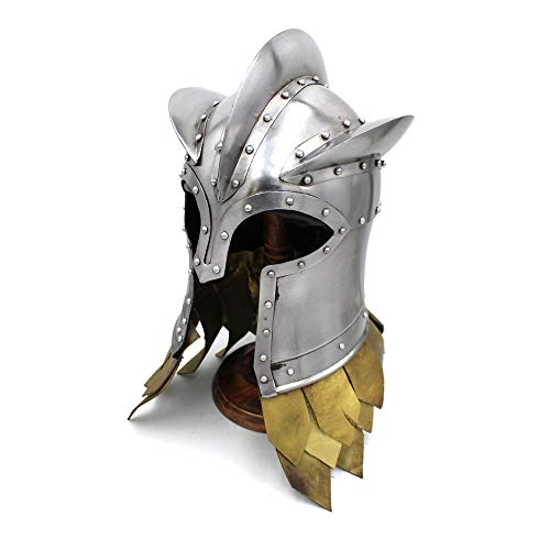 Medieval Warrior Brand Kingsguard Helmet | Wearable for Adult | Medieval Costumes | Silver