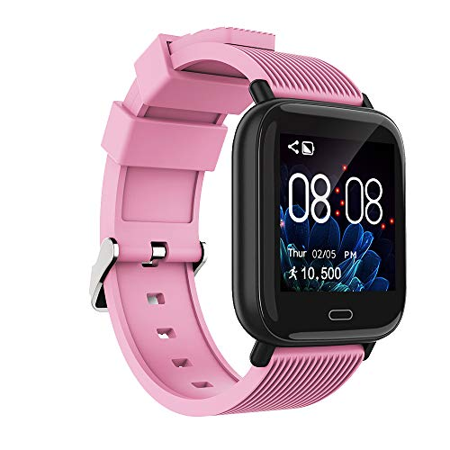 SKMEI Women's Smart Watch, Fitness Tracker with Heart Rate Monitor, Waterproof Activity Tracker with Blood Pressure Blood Oxygen Sleep Monitor, Smartwatch Compatible iPhone Android Phones