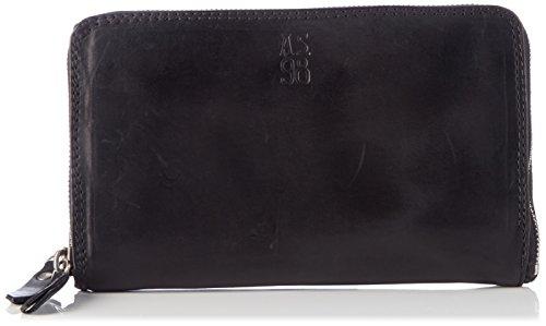 A.S.98 Unisex  Wallet, Schwarz (Nero 6002), Einheitsgröße