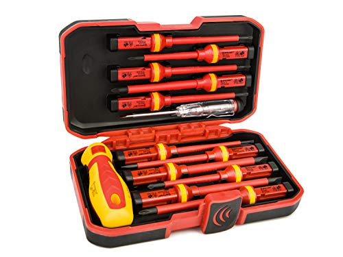 Eacker 1000V Insulated Screwdriver Set with Life-time Warranty...