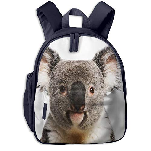 Mochilas Infantiles, Bolsa Mochila Niño Mochila Bebe Guarderia Mochila Escolar con Retrato de Animal Macho Koala Bear para Niños De 3 a 6 Años De Edad