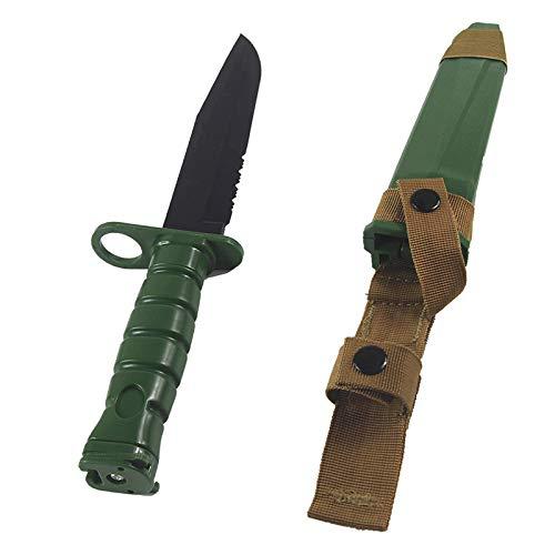 Wwman Weiche Gummi Schwert Messer Spielzeug Taktische Militärmesser Scheide ABS Kunststoff Klinge (OD)