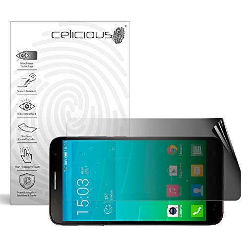Celicious Privacy 2-Way Landscape Anti-Spy Filter Screen Protector Film Compatible with Alcatel Onetouch Idol 2S