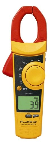 Fluke 902 True RMS HVAC Clamp Meter with a NIST-Traceable Calibration Certificate with Data
