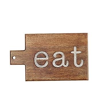 Mud Pie  Eat  Cutting Board, Brown