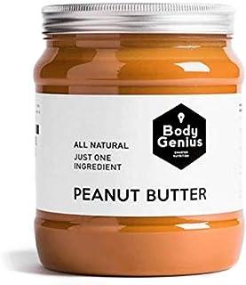 comprar comparacion BODY GENIUS Smooth Peanut Butter. 1000g. Crema de Cacahuete Suave. Natural, Sin Azúcar y Sin Aceite de Palma. 100% Cacahue...