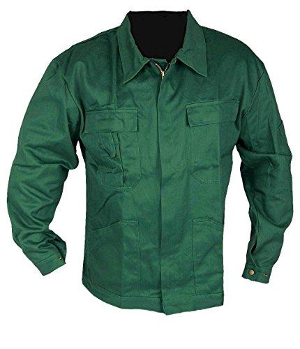Arbeitsjacke und Berufsjacke Bundjacke 100% Baumwolle IW092 Grün, L