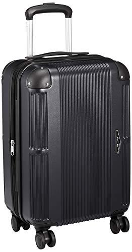 [エース] スーツケース クレート エキスパンド機能 ハンディポーチ付 機内持ち込み可 41L(拡張時) 2~3泊 3.3kg 48 cm ブラック