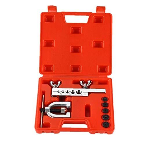 Auto Doppel Bördelgeräte Kit Kupfer-Metallbremsleitung Messingrohre Werkzeug komfortable manuelle Industrie Zubehör