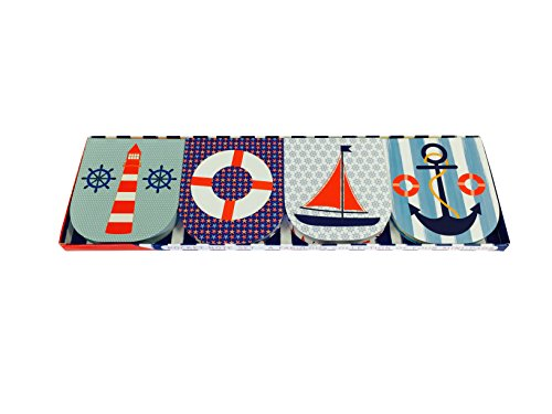 Pocket Note Set of 4 Mini-Pads: Maritime: A Fabulous Collection of 4 Mini-Pads
