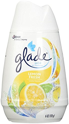 Glade Solid Air Freshener 6Oz Lemon Fresh Pack (3)