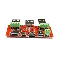 Mei-YY JuweiタイプCマイクロUSBミニUSBケーブルアダプタ変換基板Usbのテスター電流計容量監視機器