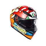 AGV Casco Moto Integrale K-3 Sv E2205 Multi Plk, Balloon, Taglia MS