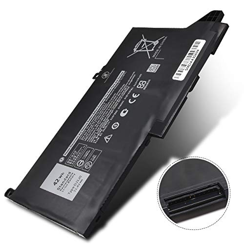 New DJ1J07280 42Wh Battery Compatibel with Dell Latitude 12 7000 7480 7290 E7280 E7290 7380 7390 E7380 E7390 7480 7490 E7480 E7490 Series Notebook,P/N: DJ1J0 PGFX4 ONFOH 451-BBZL