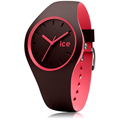 Ice-Watch - ICE duo Chocolat Coral - Women's wristwatch with silicon strap - 012972 (Medium)