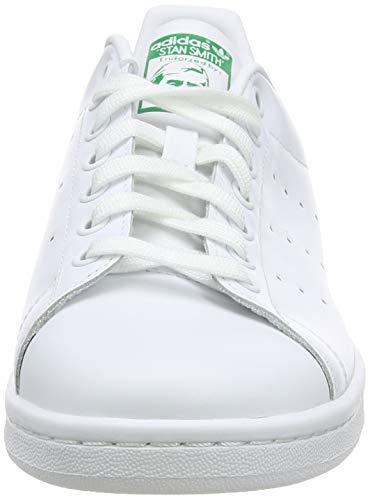 adidas Stan Smith, Zapatillas de Gimnasia Hombre, Blanc, 42 2/3 EU