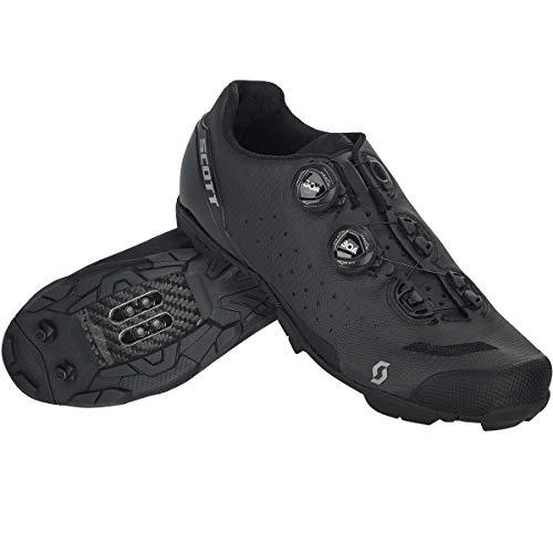 SCOTT MTB RC EVO Zapatillas de Ciclismo, Hombre, Black Reflective/Black, 46