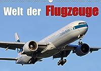 Welt der Flugzeuge (Wandkalender 2021 DIN A3 quer): Eindruecke aus der Luftfahrt (Monatskalender, 14 Seiten )