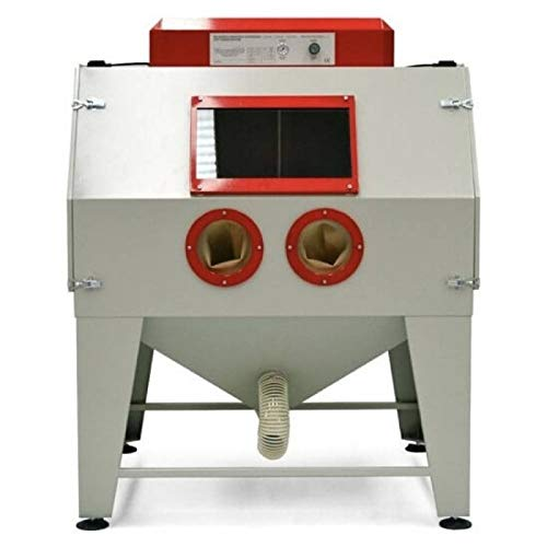 Lordsworld - Sanders y Accesorios - Pal-4D de granallado chorro de arena cabina y una depresión - Planta Trabajo: 1440 X 1090 X H800 mm - Dimensiones: 1480 x 1600 x H1900 Mm