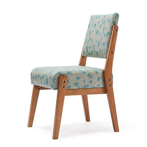 Loungefåtöljer av massivt trä loungefåtöljer av nordiskt läder loungesöl av bakformat trä modern minimalistisk matrumsstol (färg: A)