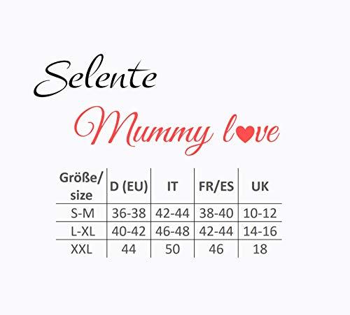 Selente Mummy Love Vestito Basic Premaman di qualità, Fiocco Beige, S/M