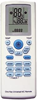 AC Remote Control For Carrier, Trane, Toshiba, Sanyo, Mitsubishi, Fujitsu, Hitachi, Haier, LG, York, Midea, Panasonic, Sharp, Samsung, Kelon, Hyundai, Gree, Funai, Daikin, Rowa, Goldstar, Daewoo