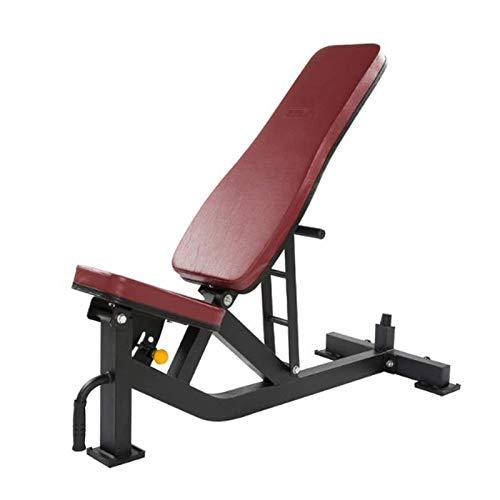 qazxsw Hantelbank Verstellbare Kurzhantel-Flachbank für Muskelaufbau und Krafttraining Tragfähigkeit 500 kg