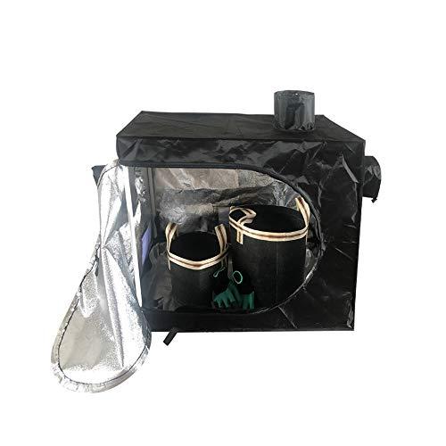 Imagen del productoWWZL Armario de Cultivo Interior 80X80x45cm, Grow Tent Indoor, Mini Portátil Grow Box Hidroponía