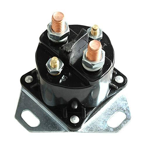 BETTERCLOUD Glow Plug Glowplug Relay Solenoid Black Compatible with F-ord F-250 F-350 F-450 F-550 E-350 7.3L Powerstroke Diesel Replace F81Z-12B533-AC F7TZ-12B533-CA3 F7TZ-12B533-A3