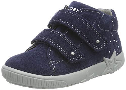 Superfit Baby Mädchen STARLIGHT Sneaker, Blau (Blau 80), 23 EU