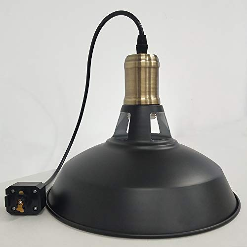 STGLIGHTING Iron H-Type Track Pendant Lighting 11.8in Cord...