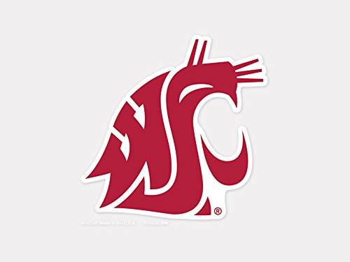 """WinCraft NCAA Washington State University Perfect Cut Color Decal, 4"""" x 4"""""""
