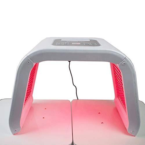 COOYT 7 Farben PDT LED-Lichttherapiegerät, Anti-Aging-Hautpflege-Tools for Gesicht, Hals, Körper - Salon SPA-Verjüngungs-Schönheits-Ausrüstung - Akne-Entferner-Photonenmaske