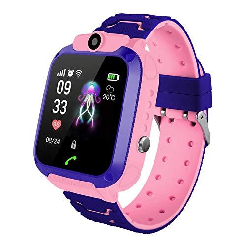 biteatey - Reloj Inteligente para niños (Impermeable, SOS, GPS, función de Llamada, Pantalla táctil de 1,44 Pulgadas)
