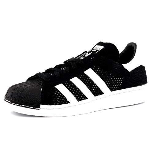 Adidas Superstar PK, Zapatillas de Deporte para Hombre, Negro (Negbas/Ftwbla/Negbas 000), 45 1/3 EU