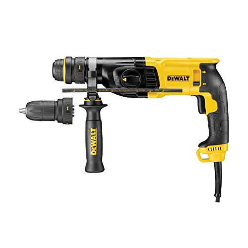 Dewalt D25134K-LX D25134K SDS+ Hammer 2kg 3 Mode with Quick Change Chuck 26mm 110V, 800 W, 110 V, Black/Yellow, 110 Volt
