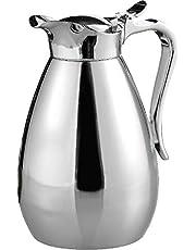 Esmeyer vakuum kanna palats 0,6 l rostfritt stål, silver, 15,2 x 15,24 cm