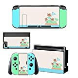 Animal Crossing Console Skin - Nintendo Switch Skin / Decal / Vinyl - Classic New Horizons Switch Console Edition