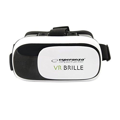 Esperanza Virtual Reality Brille für 3,5 – 6 Zoll Smartphones – 360° VR Box - virtuelle Realität