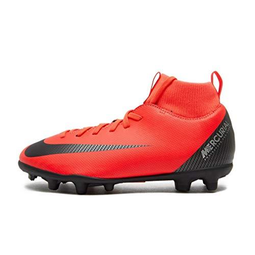 Nike Superfly Academy GS CR7 MG Junior AJ3115-600 - Scarpe da Calcio Ragazzo multiterreno firmate Cristiano Ronaldo